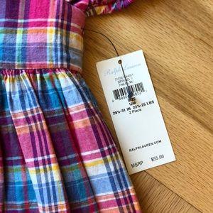 Ralph Lauren Dresses - Ralph Lauren Madras Plaid Dress